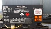 Bahnwagen mit Geschichtswürdiger Beschriftung