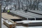 Vorbereiten der Dachelemente