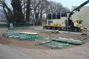 Geländer bereit zur Montage