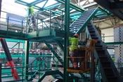 Treppenturm vor Kommandoraum