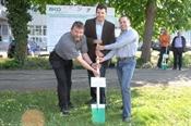 Marcel Bühlmann, Geschäftsführer BKO AG mit Bernhard Bider und Thomas Lüthy